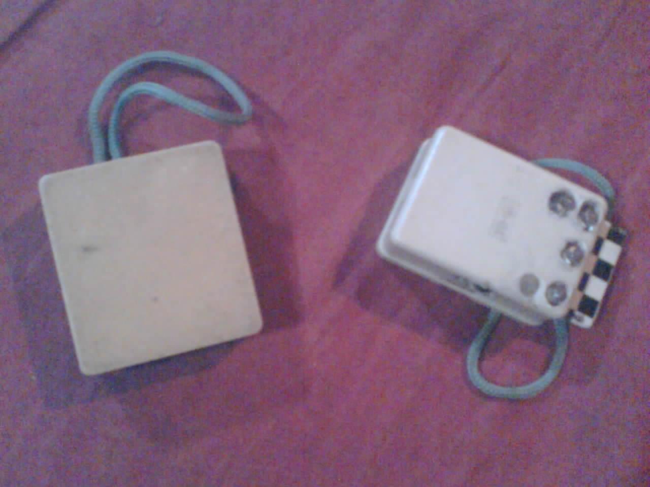 Senter led dengan menggunakan kotak sentral telepon bekas.jpg